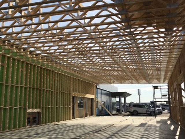 New Building Framing